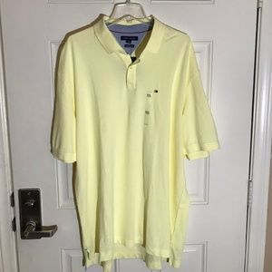 Tommy Hilfiger Classic Fit Polo Shirt Yellow